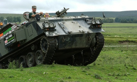 Tank Riding or Driving Experience for Up to Three with Turboventure