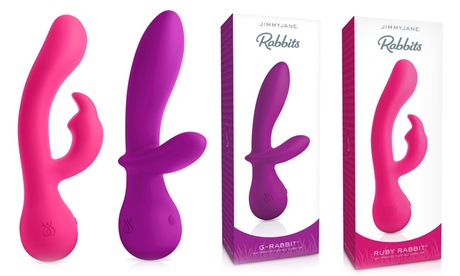 Jimmy Jane Rechargeable Vibrating G-Spot Rabbits 5ec7405e-c00f-11e7-ac49-00259060b5da
