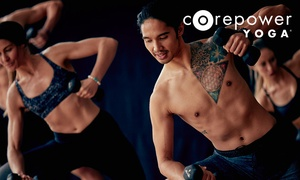50% Off Yoga Classes at CorePower Yoga