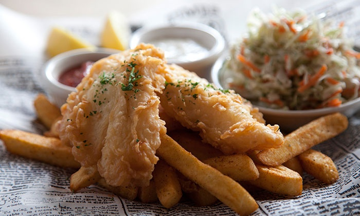 Portland seafood company tigard in tigard or groupon for Fresh fish company happy hour