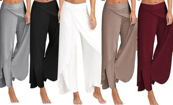 Women's Wide Leg Harem Pants