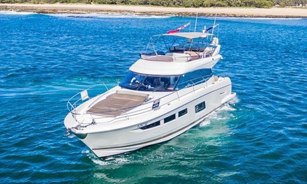 Four- or Eight-Hour Yacht Rental from Aristocrat Yacht Club (Up to 25% Off). Three Options Available.