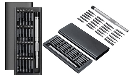 25-Piece Magnetic Screwdriver Set