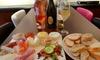 Luxe broodplank met wijn (2 p,)