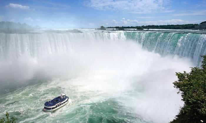 null - Kitchener - Waterloo: Stay with Dining, Entertainment, Wine, and Chocolate Credits at Ramada Plaza Niagara Falls in Niagara Falls, ON