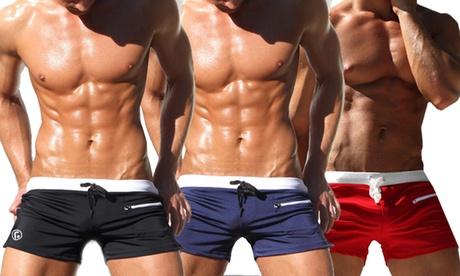 1 o 2 bañadores con bolsillo para hombre