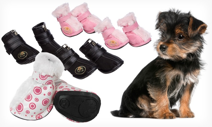 Pet Life Dog Shoes: $22 for Four Pet Life Dog Shoes ($39.99 List Price). Multiple Styles and Sizes Available. Free Shipping and Returns.