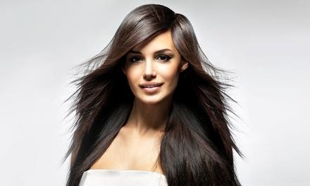 Shampoing, coupe, brushing, soin ,restructurant avec coloration ou balayage pourtoutes longueurs de cheveux dès 22 €