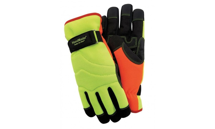 Hand Master High-Visibility Winter Gloves