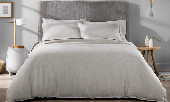 New Season Home 100% French Linen Duvet Cover Set (3-Piece)