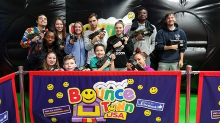 Admission for Two or Four with 1 Activity Each at Bounce Town USA (Up to 36% Off)