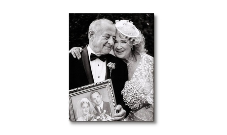 Personalised Photo Canvas in Choice of Sizes from Printerpix (Up to 73% Off)