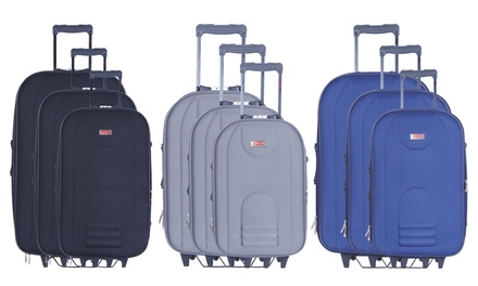 Hero Three-Piece Jura Trolley Suitcase Set With Free Delivery