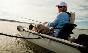 Kayak Fishing Adventures: 8 Std. Angel-Kajak mieten für 1 oder 2 Personen bei Kayak Fishing Adventures (bis zu 50% sparen*)