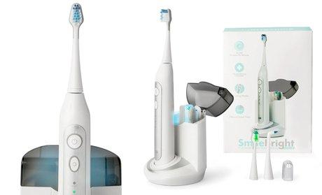 Elite Sonic Toothbrush with UV Sanitizing Charging Base