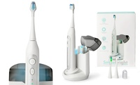 Groupon.com deals on Platinum Edition Elite Sonic Toothbrush with UV Sanitizing Charging Base