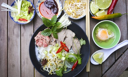 Vietnamese Lunch with Water or Soft Drink for One $12 or Two People $24 at Le Saigon Up to $36 Value
