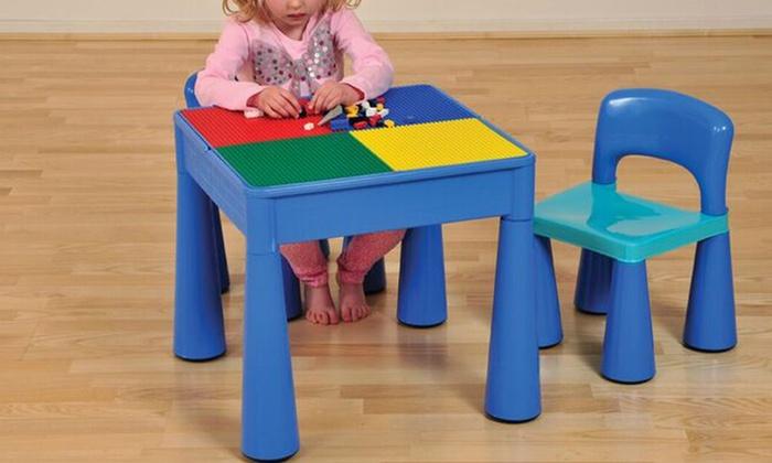 table d 39 activit 3 en 1 pour enfant groupon. Black Bedroom Furniture Sets. Home Design Ideas