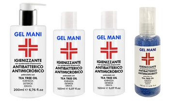 Gel igienizzante mani Pharmazon