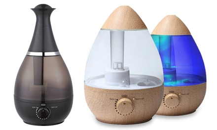 $39 for an Egg or BottleShaped TODO 2.5L Ultrasonic Air Humidifier and Aroma Diffuser Don't Pay up to $149