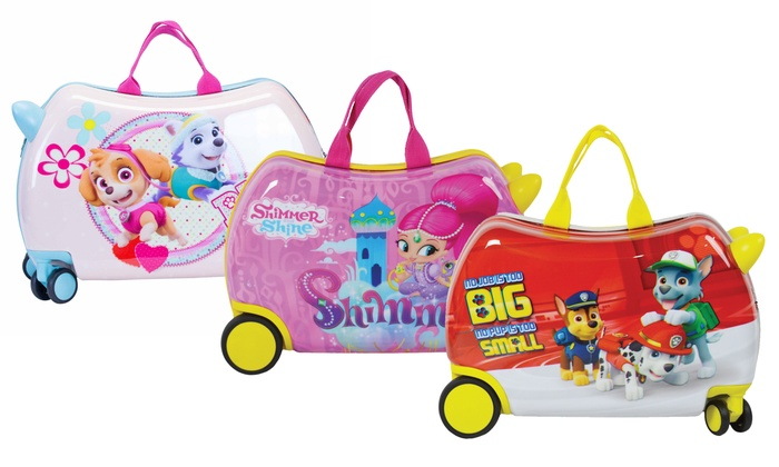 e352a852eec0 Nickelodeon Kids' Cruizer Hardside Rolling Carry-On Luggage | Groupon