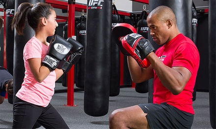 $39 for a One-Month Gym Membership with All-Access Class Pass at UFC GYM ($177 value)