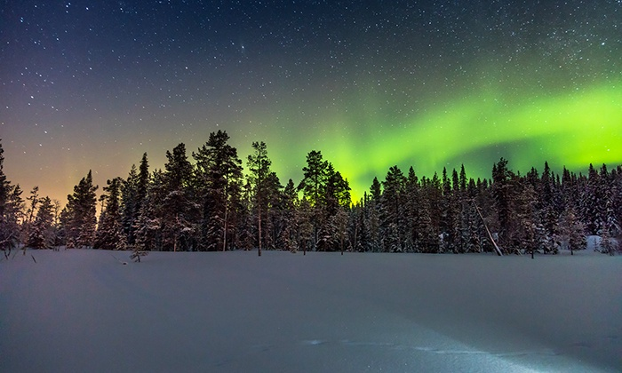 6-Day Finnish Lapland Trip with Airfare from Great Value Vacations