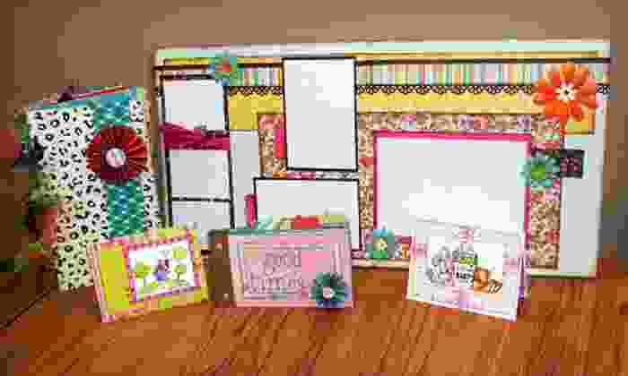 Busy Scrappin' - Bellevue: Scrapbook Classes and Supplies at Busy Scrappin' (Up to 53% Off). Two Options Available.