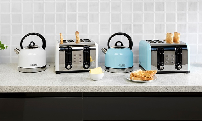 Russell Hobbs Oslo Grey Kettle for £24