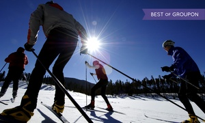 Colorado Cross Country Ski Association: Nordic Trail Pass for Two or Beginner's Ski Lesson for One at Colorado Cross Country Ski Resorts (45% Off)