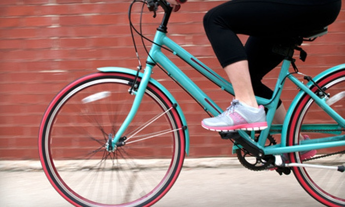 Midtown Bike Shop - Garment District: Two- or Four-Hour Bike Rental for One or Two from Midtown Bike Shop in Manhattan (Up to 69% Off)