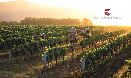 Hunter Valley: One or TwoNight Getaway for Two People at Hunter Valley Resort Self Drive or take the Wine Train