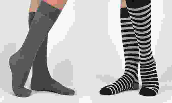 Adrienne Vittadini Socks: Four or Six Pairs of Adrienne Vittadini Socks (Up to 70% Off). Three Options Available.