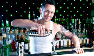 Action Bartending School: Amateur Mixology or Wine 101 Class for One or Two at Action Bartending School (Up to 62% Off)