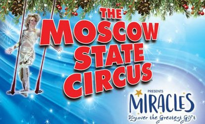 image for Moscow State Circus on 20 December - 7 January at Ealing Common (Up to 50% Off)