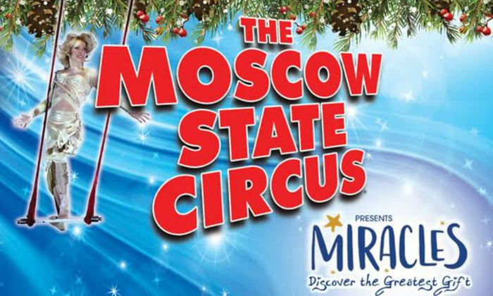 Moscow State Circus on 20 December - 7 January at Ealing Common (Up to 50% Off)
