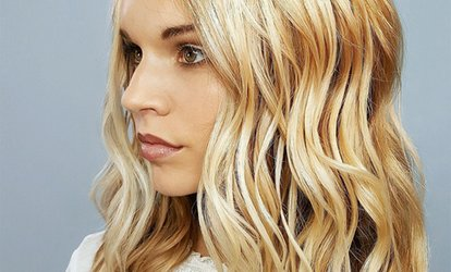$17 for <strong>Haircut</strong> and Botanical Treatment at Douglas J Aveda Institute ($44 Value)