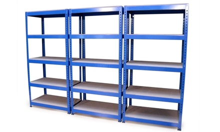 One £29.99 or Two £59.98 Heavy Duty Shelving FiveTier Storage Units With Free Delivery