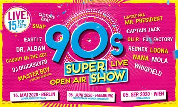 "Open-Air: ""90s Super Show"""