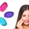 Three Silicone Make-Up Sponges