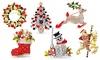 Selectie van verschillende Kerstbroches