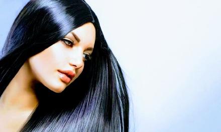 Lissage brésilien à la kératine prestige pour cheveux courts, mi longs ou longs dès 69 € au salon Kike Filian Coiffure
