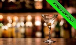 café parallelwe.lt bar: 3-Gänge-Liquid-Dinner oder 3 Cocktails nach Wahl für Zwei oder Vier in café parallelwe.lt bar (bis zu 58% sparen*)