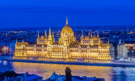 ✈ Budapest: 2, 3 or 4 Nights at a Choice of 5* Hotels with Return Flights and Option for Danube River Cruise*
