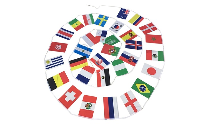 Stringa Phonillico con 32 bandiere