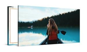 Photo Gift: Fotolienzo panorámico con tamaño a elegir desde 17,99 € en Photo Gift