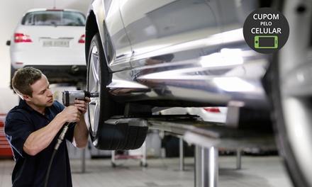 Oficina Brasil – Diadema: alinhamento, balanceamento, check up de freios e rodízio (opção de injeção e limpeza de bicos)