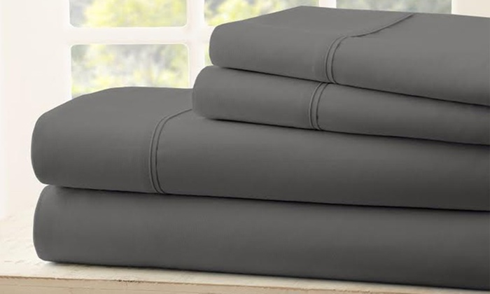 1800 tc egyptian cotton sheets royal bliss linens livingsocial. Black Bedroom Furniture Sets. Home Design Ideas