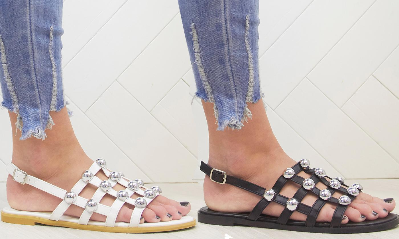 Women's Studded Mules