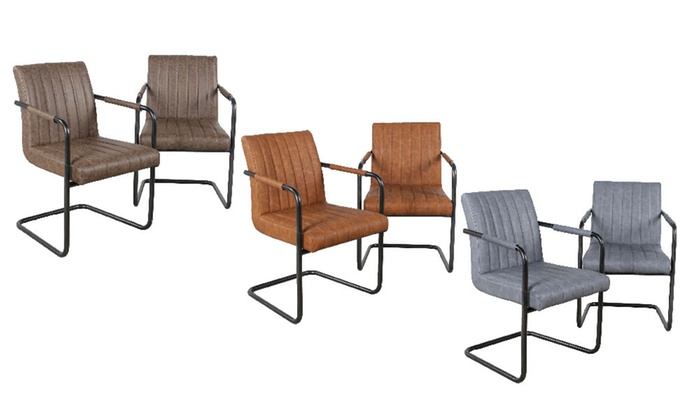 Lot De 2 Chaises Design Industriel